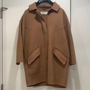 Zara Camel Coat size S